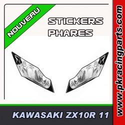 FAUX PHARES AUTOCOLLANTS ZX10R 11-13