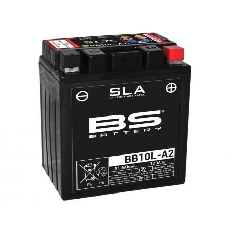 Batterie BS BATTERY BB10L-A2 SLA sans entretien activée usine