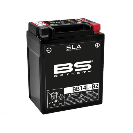 Batterie BS BATTERY BB14L-B2 SLA sans entretien activée usine