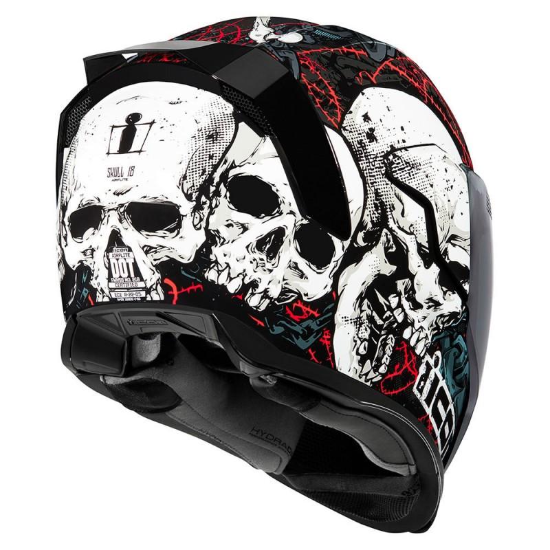 Casque Icon Airflite Skull 18