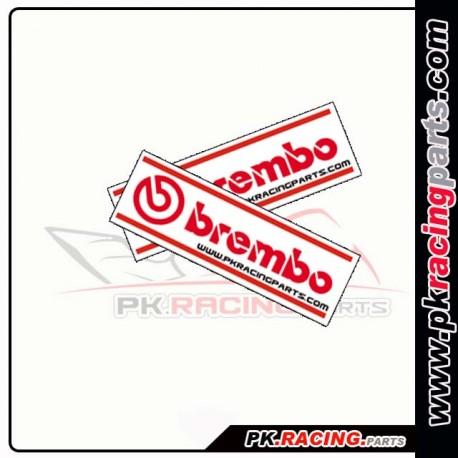 Autocollants BREMBO - PK Racing parts