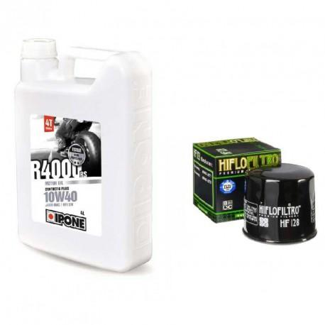 Pack vidange Ipone R4000RS 10w40