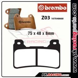 Plaquettes BREMBO Z03 Compétition Endurance