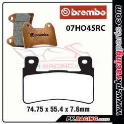 Plaquettes BREMBO RC ( Racing ) 07HO45RC