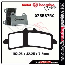 Plaquettes BREMBO RC ( Racing ) 07BB37RC
