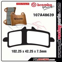 Plaquettes BREMBO Z04 107A48669 ( Compétition Vitesse )