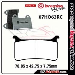 Plaquette de frein BREMBO 07HO63 RC