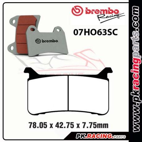 Plaquette de frein BREMBO 07HO63SC
