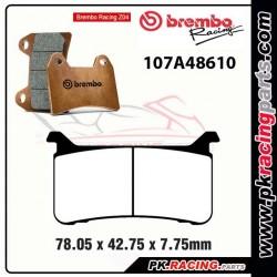 Plaquettes BREMBO Z04 107A48610 ( Compétition Vitesse )
