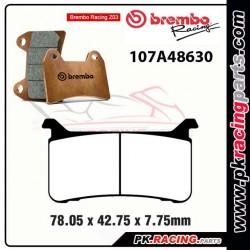 Plaquettes BREMBO Z03 107A48630  ( Compétition Endurance )