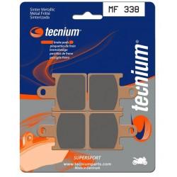 Plaquettes de frein TECNIUM ( BENDIX ) MF338