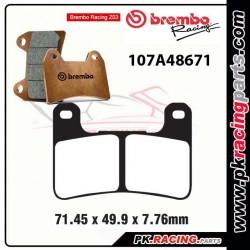 Plaquettes BREMBO Z03 107A48671 ( Compétition Endurance )