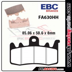 EBC FA630HH METAL FRITTE ROUTE - HYPERSPORT
