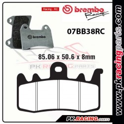 Plaquettes BREMBO 07BB38RC ( Racing )