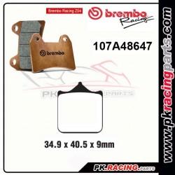 Plaquettes BREMBO Z04 107A48647 ( Compétition Vitesse )
