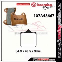Plaquettes BREMBO Z03  107A48667 ( Compétition Endurance )