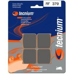 Plaquettes de frein TECNIUM ( BENDIX ) MF370