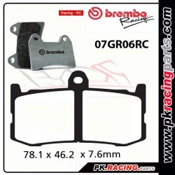 Plaquettes BREMBO 07GR06RC ( Racing )