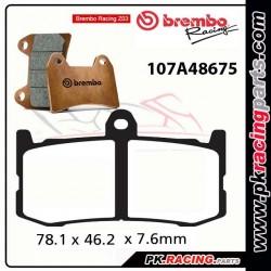 Plaquettes BREMBO Z03 107A48675 ( Compétition Endurance )