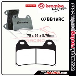 Plaquettes BREMBO 07BB19RC ( Racing )