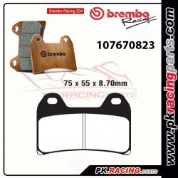 Plaquettes BREMBO Z04 107670823 ( Compétition Vitesse )