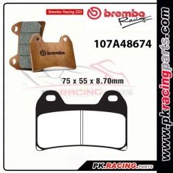 Plaquettes BREMBO Z03 107A48674  ( Compétition Endurance )