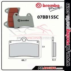Plaquettes BREMBO 07BB15SC ( Route )