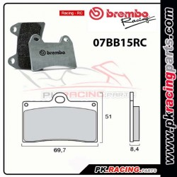 Plaquettes BREMBO 07BB15RC ( Racing )