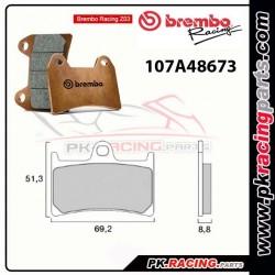 Plaquettes BREMBO Z03 107A48673  ( Compétition Endurance )