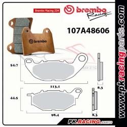Plaquettes BREMBO Z04 107A48606 ( Compétition Vitesse )