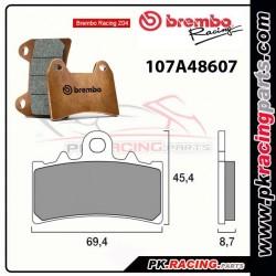 Plaquettes BREMBO Z04 107A48607 ( Compétition Vitesse )