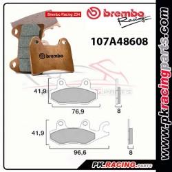 Plaquettes BREMBO Z04 107A48608 ( Compétition Vitesse )