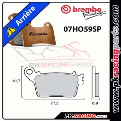 PLAQUETTES AR BREMBO 07HO59SP