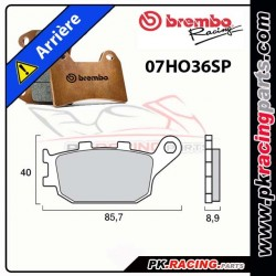 PLAQUETTES AR BREMBO 07HO36SP