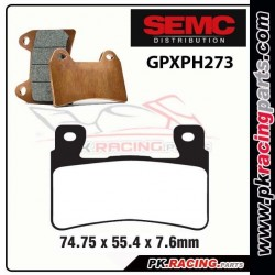 Plaquettes SEMC BREMBO GPXPH273 ( Compétiton)