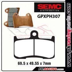 Plaquettes SEMC BREMBO GPXPH307 ( Compétiton)