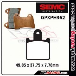 Plaquettes SEMC BREMBO GPXPH362 ( Compétiton)