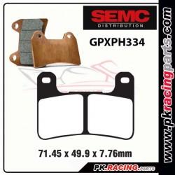 Plaquettes SEMC BREMBO GPXPH334 ( Compétiton)