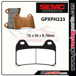 Plaquettes SEMC BREMBO GPXPH223 ( Compétiton)