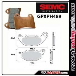 Plaquettes SEMC BREMBO GPXPH489 ( Compétiton) YAMAHA R3
