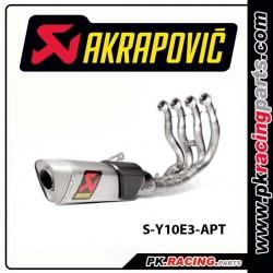 Ligne titane evolution AKRAPOVIC R1 15-