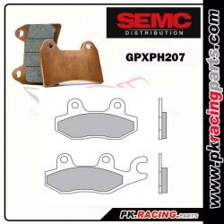 Plaquettes SEMC BREMBO GPXPH 207( Compétiton)