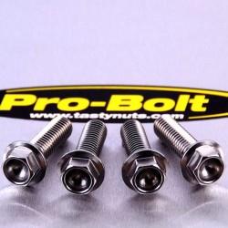 Vis d'étrier de frein avant Pro-Bolt inox par 4 Suzuki GSR600 - GSX-R750