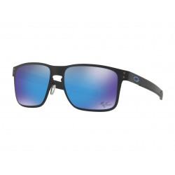 Lunette de soleil OAKLEY Holbrook Metal Moto GP Matte Black verres PRIZM Sapphire
