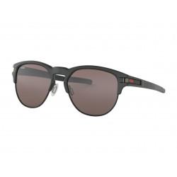 Lunette de soleil OAKLEY Latch Key Marc Marquez Limited Edition Matte Black verre PRIZM Black taille M