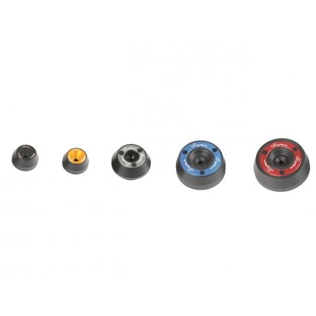 Protection de fourche et bras oscillant (axe de roue) LIGHTECH or Yamaha YZF-R6