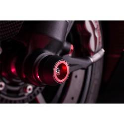 Protection de fourche et bras oscillant (axe de roue) LIGHTECH rouge Ducati Panigale 959