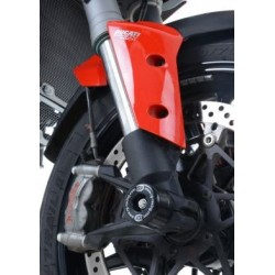 Protection de fourche R&G RACING noir Ducati Multistrada 1200