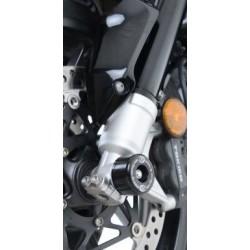Protection de fourche R&G RACING noir Honda Crossrunner