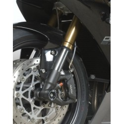 Protection de fourche R&G RACING noir Triumph Daytona/Street Triple 675